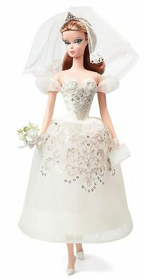 Barbie Fashion Model Gold Label Collection Principessa Doll Wedding Bride Gown