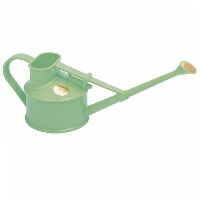 Haws Sage Plastic Handy Indoor Watering Can with Rose Attachment 0.7 Litre