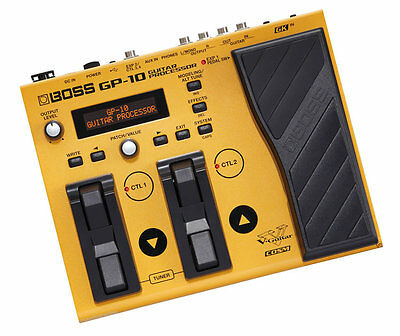 Boss GP-10S Guitar Effects Processor GP-10 With w/ Roland GK-3 Pick Up