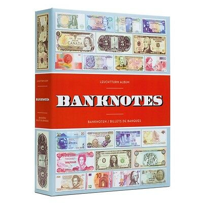 BANKNOTE ALBUMS for 300 CURRENCY NOTES ( LIGHTHOUSE PRODUCT)