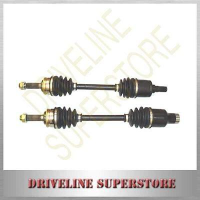 A SET OF TWO CV JOINT DRIVE SHAFTS for HOLDEN CRUZE AWD 2002-2005 manual