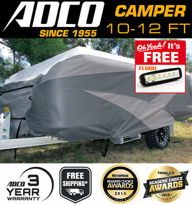 ADCO Ultra Premium Camper Trailer Cover 10-12 ft - suits Jayco Finch & Dove
