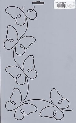 Quilting Stencil Template - Butterfly Border Design - Made in the US