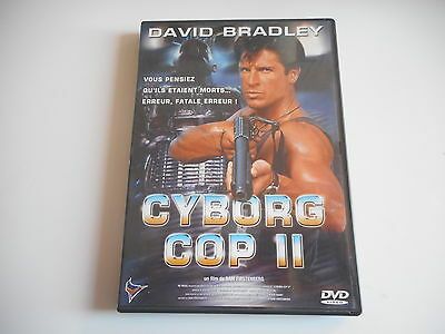DVD - CYBORG COP II avec DAVID BRADLEY - film de  SAM FIRSTENBERG - ZONE 2