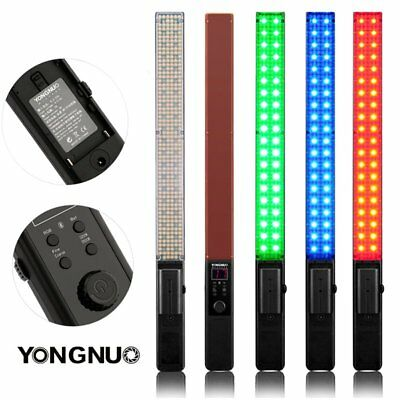 YONGNUO YN360 Handheld Pro LED Video Light 3200K-5500K RGB Colorful ICE Stick US