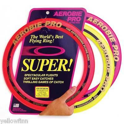 "Aerobie Pro 13"" Flying Ring Outdoor Toy For Kids/Adults Disc Frisbee Brand NEW"