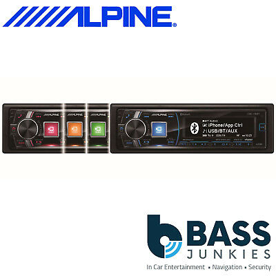 Alpine CDE-178BT 50W x 4 Bluetooth CD MP3 USB AUX In Android iPhone Car Stereo