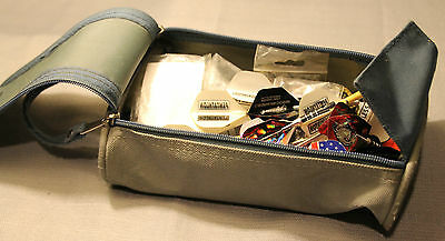 Large Mixed Lot Of Dart Parts In Carry Case ! Flights Tips Shafts +