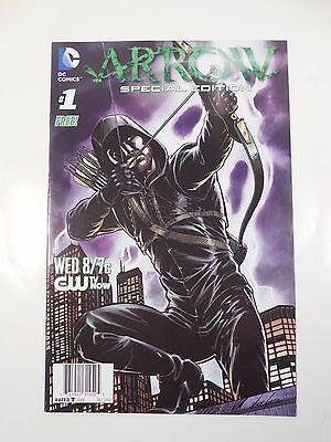 Dc Comics Arrow Special Edition #1 Tv Show Preview Free Comic Oliver Queen Cw