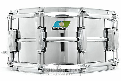 Ludwig Supraphonic Chrome Over Brass Snare Drum 14x6.5 B-Stock - LB402BB