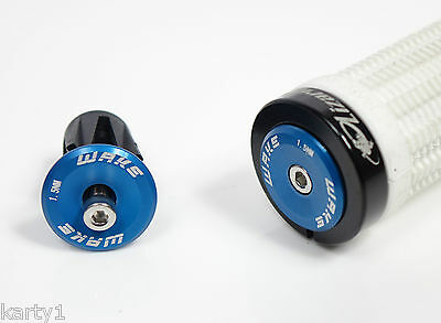 Mountain bike,racing,Bolt in, Anodised Handlebar end caps, plugs, expanding fit