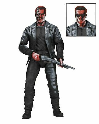 """Terminator 2 - 7"""" Action Figure - T-800 Video Game Appearance - NECA"""
