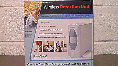 LASERSHIELD WIRELESS DETECTION UNIT home alarm motion detector WDU laser shield