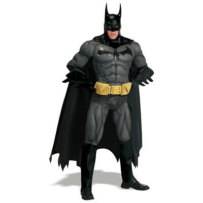 Batman Costume Adult Mens Collector's Edition Superhero Halloween Fancy Dress