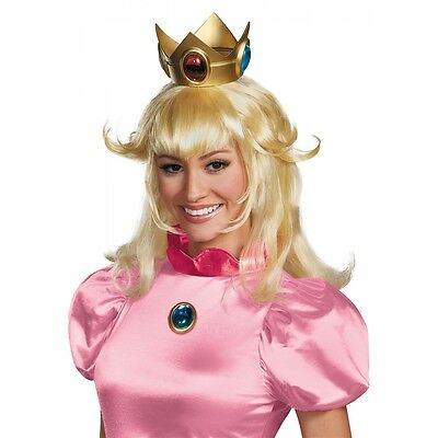 Princess Peach Crown Costume Accessory Adult Mario Brothers Halloween