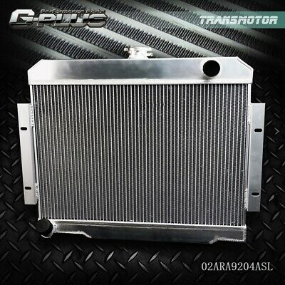 GPLUS Full Aluminum Racing Radiator For 72-86 JEEP CJ CJ5 CJ6 CJ7 3.8-5.0 MT