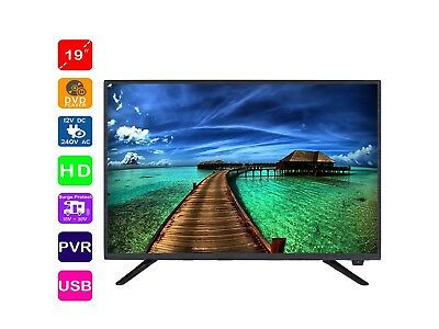 19'' HD LED TV with optional acc 12V Car lead / TV Bracket /Antenna Cable / HMDI