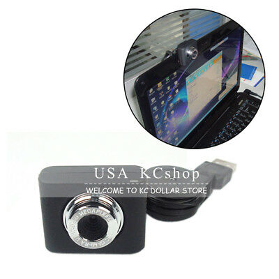 New USB Webcam Camera Web Cam With Built-in Mic Retractable Clip for Desktop PC