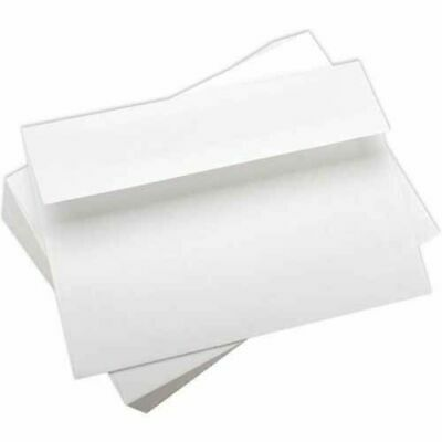 "A7 (5 x 7"") Envelopes WHITE Smooth 90gsm - 25 Pack 5.25"" x 7.5"""