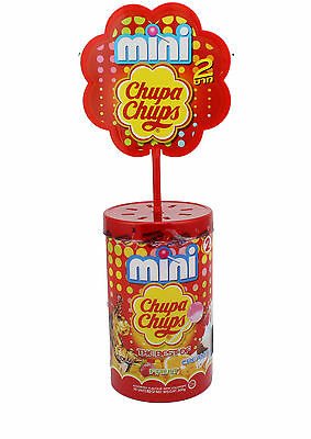 100 X Mini Chupa Chups the best of Cola Fruit and Creamy ( 2 X 50 x 6g ) 600g