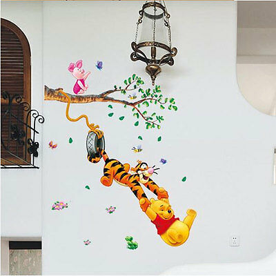 Winnie The Pooh Wall Sticker Vinyl Decal Decor Removable Nursery Kids Art Baby