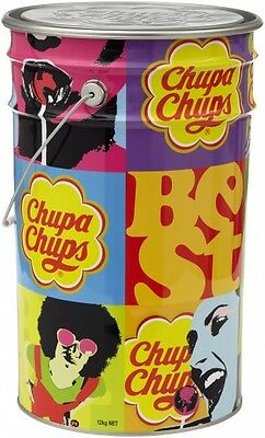 Assorted Pack of 1000 Chupa Chups (12g each) within a Mega Tin!!!
