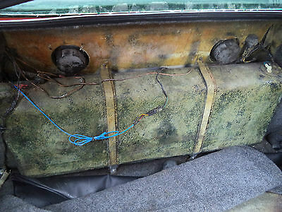 Tvr Tuscan 1 Red Rose - Rear Petrol Gas Fuel Tank Idea For Kit Car / Track Day