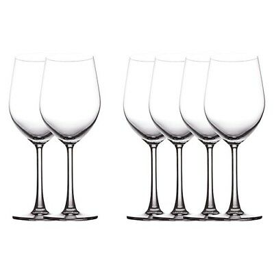 New Maxwell & Williams Set of 6 Cosmopolitan Red Wine Glasses 425ml