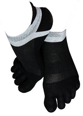 3 Paar Zehensocken Sneakersocken Herren Fingersocken Toe Socks Füsslinge Yoga