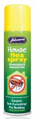 Johnson's Veterinary House Flea Spray, Household Insecticide - 250ml