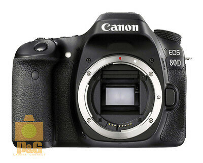 NEW BOXED Canon EOS 80D DSLR Camera Body Only