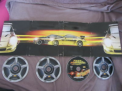 Fast and furious trilogie avec Vin Diesel, coffret 4DVD, Action