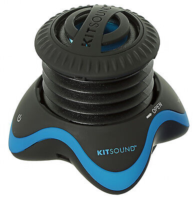 KitSound Invader Portable Mini Speaker for iPhone/iPad/iPod/MP3 Player/Laptop/PC