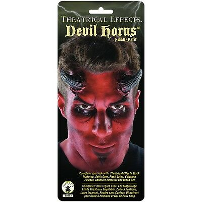 Devil Horns Prosthetic Appliance Costume Make Up FX Theatrical Special Effects
