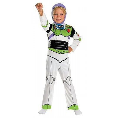 Buzz Lightyear Classic Disney Costume Toy Story Halloween Fancy Dress