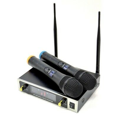 TECHNOSOUND TM-2G (UHF) coppia radiomicrofoni wireless x canto karaoke voce