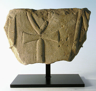 Egyptian Sandstone Relief of an Ankh  - Ancient Art & Antiquities