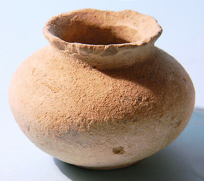 Luristan Small Pottery Jar - Ancient Art & Antiquities