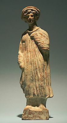 Greek Terracotta Youth - Ancient Art & Antiquities