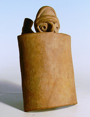 Colima Whistle in the Form of a Warrior - Ancient Art & Antiquities