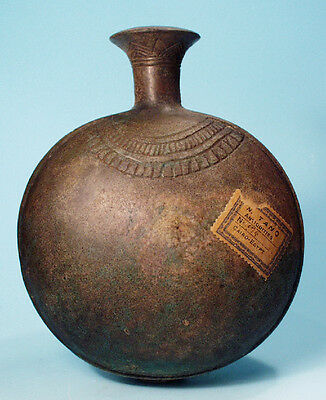 Egyptian Faience New Year Flask  - Ancient Art & Antiquities