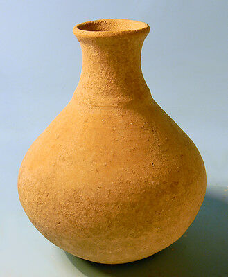 Luristan Pottery Bottle - Ancient Art & Antiquities