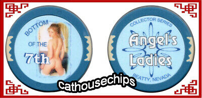 Angel's Ladies, Beatty, NV, REAL Brothel Collectors Bottom of the 7th Chip