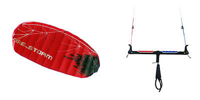 Maelstorm 3M EVOLUTION power traction foil trainer kite kitesurfing kiteboarding