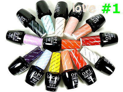 OPI GelColor #1 - Brand New Gel Color Soak Off UV/LED Choose Any Gel Polish