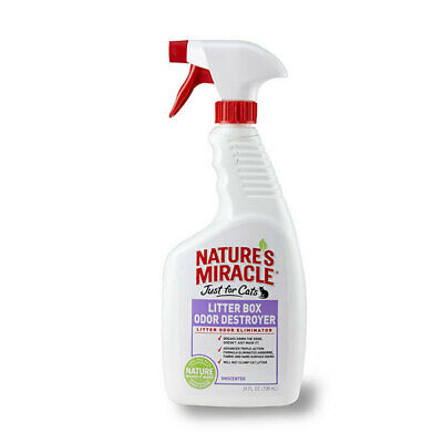 Nature's Miracle Unscented Cat Litterbox Odor Destroyer - 709ml