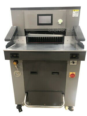 "New 670mm 26.3"" Hydraulic Paper Guillotine Cutter,Programmable Cutting Machine"