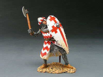 King and (&) Country MK046 - Knight w/ Axe - Retired