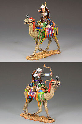 King and (&) Country MK080 - Mtd. Camel Archer Firing Forward - Retired