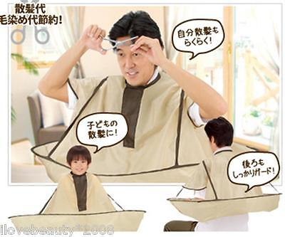 New Hair Cutting Cloak Umbrella Cape Salon Barber Hairdressing Gown Family